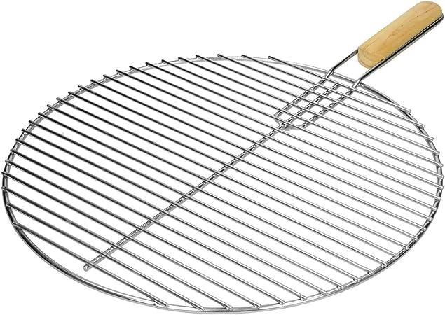 Grille Acier inoxydable Ronde 44,5 cm Barbecue à charbon de