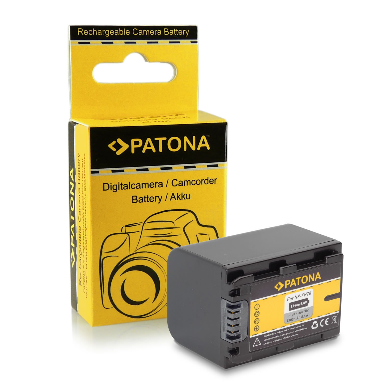 Batteria NP-F970 per Sony Camcorder Sony CCD-TR Series | CCD-TRV Series | Sony DCR-TR Series | Sony DCS-CD | Sony MVC-FD Series... PATONA