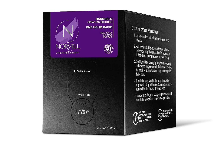 Norvell Premium Sunless Tanning Solution - Venetian One, 1 Liter