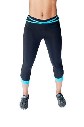 add961212439d Women's Performance Strappy Colorblock Activewear Capri at Amazon ...