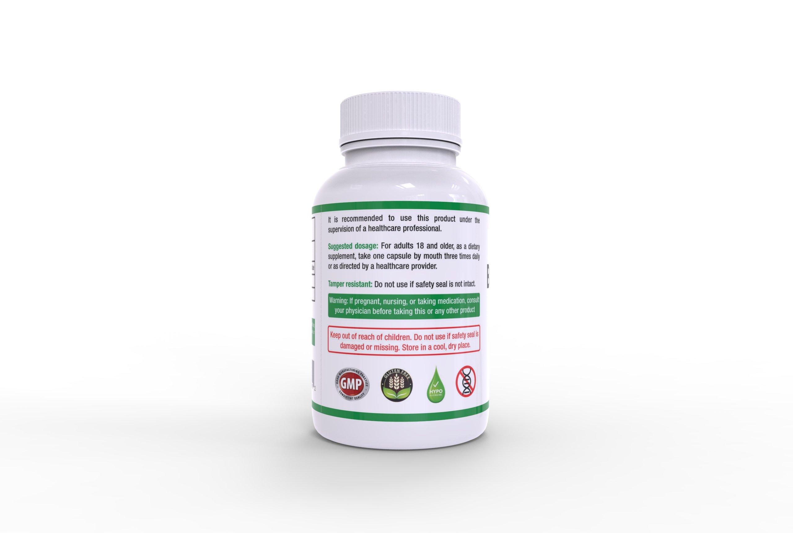 High Dose BIotin Value Bundle - 3 Bottles of 90 Capsules Each by Biotin USP 100mg
