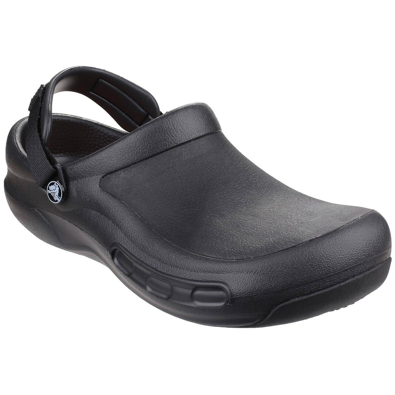 Crocs Bistro - Zuecos con forro y correa unisex, 43/44 EU|Black