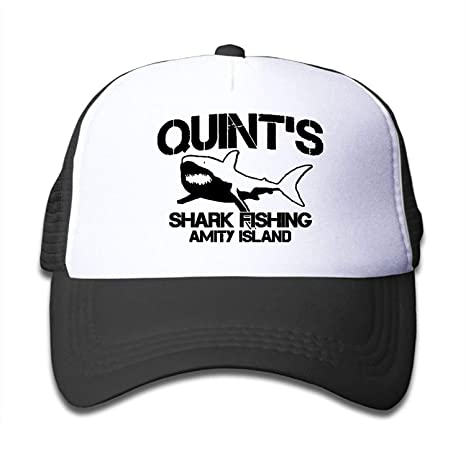 large discount united states hot sales DD Decorative Quint's Shark Fishing 1 Youth Mesh Hats Boys and ...