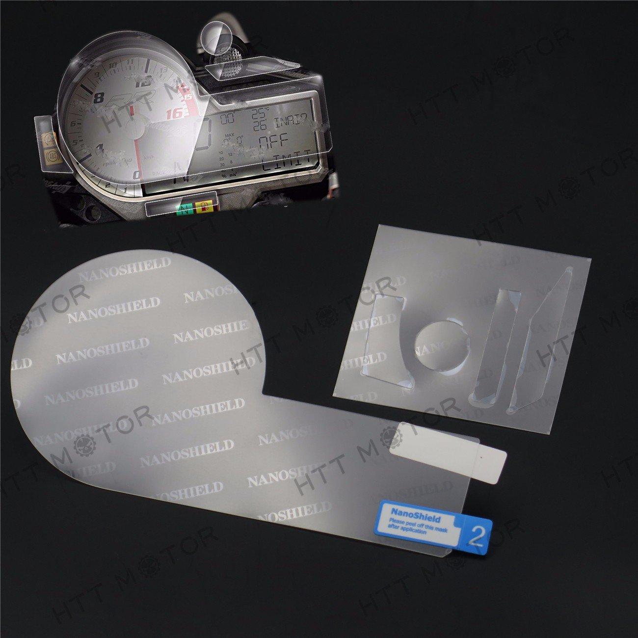 httmt- grupo cero protección película/protector de pantalla para BMW S1000R RR XR 15–16US