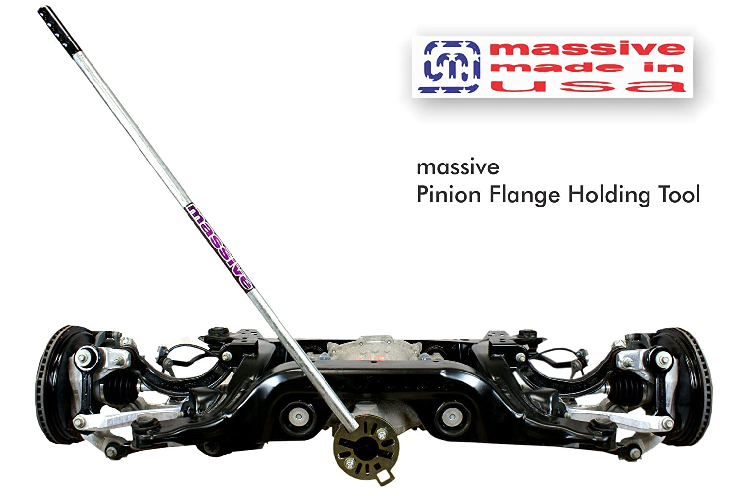 Massive Pinion Flange Holding Tool Holder Yoke Wrench Made USA Jeep Ring Rear End Axle Nut Seal 8.8 40 Dana 3//8 Thick!