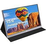 2021 [Upgraded] Portable Monitor - NexiGo 15.6 Inch Full HD 1080P IPS USB Type-C Computer Display, Eye Care Screen with HDMI/