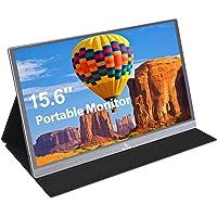 2021 [Upgraded] Portable Monitor - NexiGo 15.6 Inch Full HD 1080P IPS USB Type-C Computer Display, Eye Care Screen with…