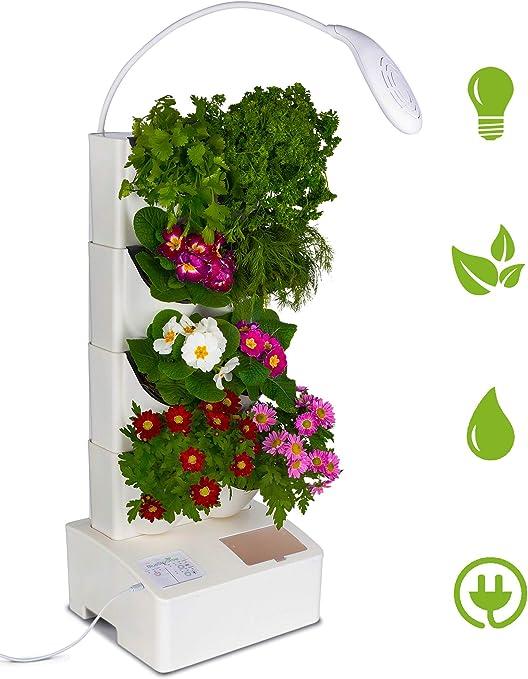 BlueSkyGrow - Maceta de jardín Vertical para Interiores con ...