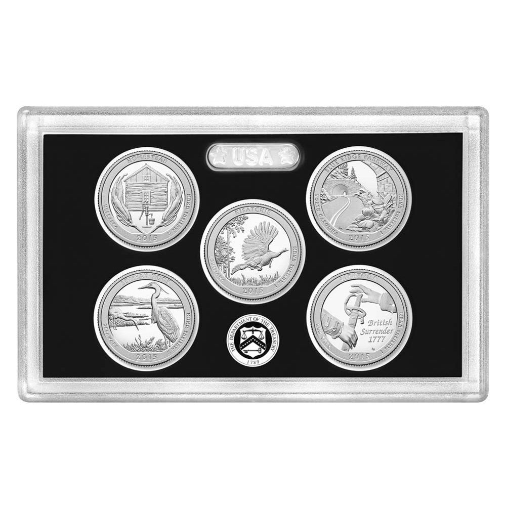 New state quarters 2015 - 2015 S United States Mint America The Beautiful Quarters Silver Proof Settm Q5h Ogp Uncirculated At Amazon S Collectible Coins Store