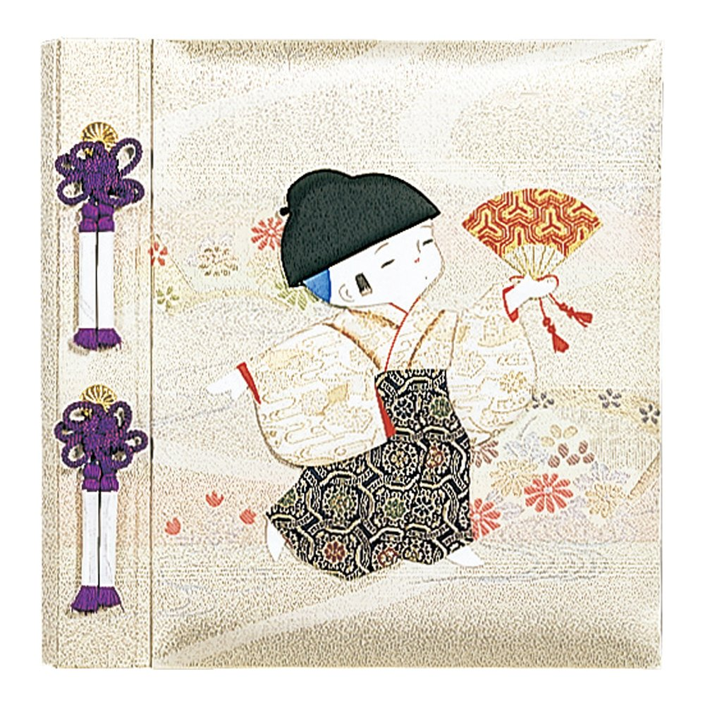 Nakabayashi Fueruarubamu birth for Kyoto doll boy photo album birthday photo A H-LB-121-2 (japan import)