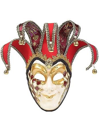 Amazon Dgmjdfkdrfu Halloween Painted Mask Dance Party Full Face