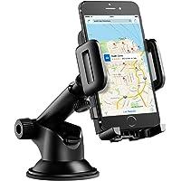 Mpow Soporte Móvil Coche para Salpicadero/Parabrisas, para iPhone Xs/X/8/7/6, Samsung Note9/8, Huawei, Xiaomi, GPS, y ect