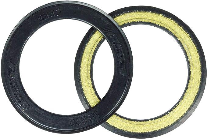 FSA BB30 Bicycle Bottom Bracket Bearing Cover Rubber Coated Black x2 MS223 FSA