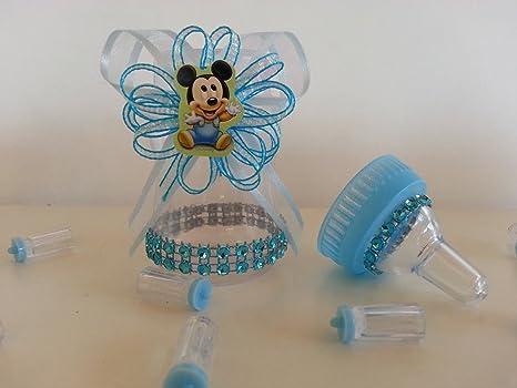 Amazon.com: 12 Bebé Mickey Mouse fillable Botellas Baby ...