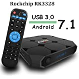 Android TV Box GooBang Doo A1 max Android 7.1 TV Box RK3328 Quad Core1G/8G 4K H.265 USB3.0 Wifi Smart TV Box
