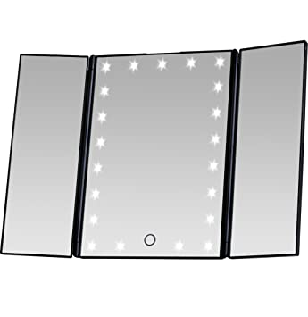Amazoncom Miss Sweet Led Makeup Mirror Lighted Tabletop Mirror