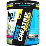 BPI Sports Best Creatine Defined Lean Muscle Hardening Agent, Sour Candy, 10.58 Ounce
