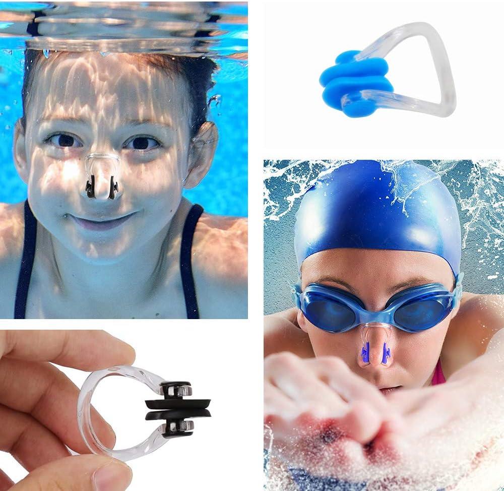 Erwachsene Kinder Schwimmen Nasenklammer Weich Silikon Schwimmer Unisex Nase EC
