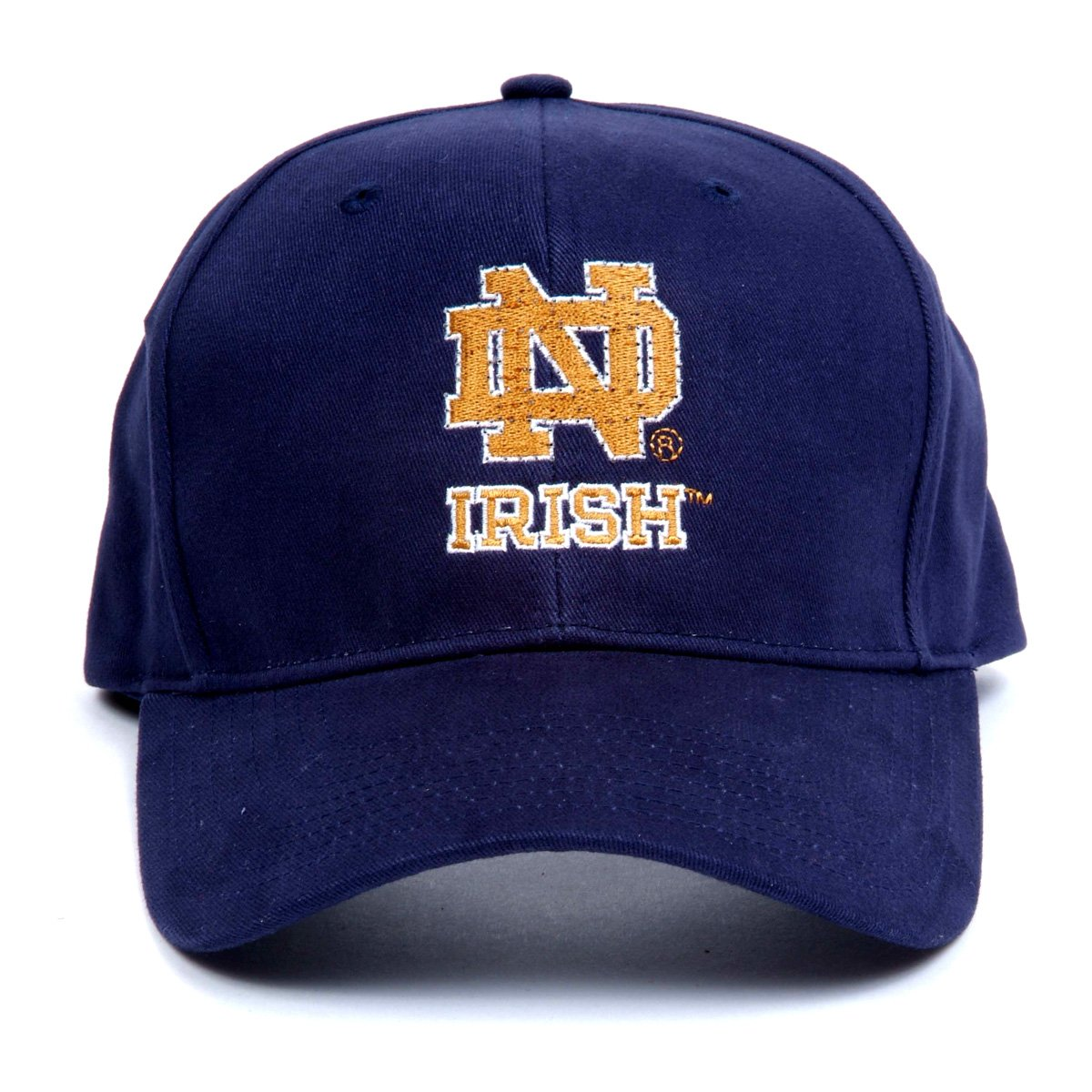 Notre dame bathroom accessories - Amazon Com Ncaa Notre Dame Fighting Irish Led Light Up Logo Adjustable Hat Sports Fan Baseball Caps Sports Outdoors