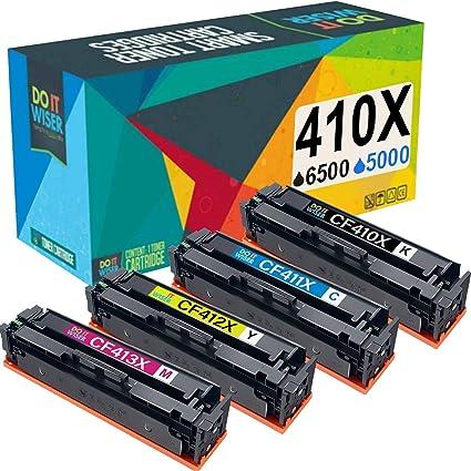 4-Pk CF410A Toner Set for HP 477A HP Color LaserJet Pro M452dw M477fdw M477fnw