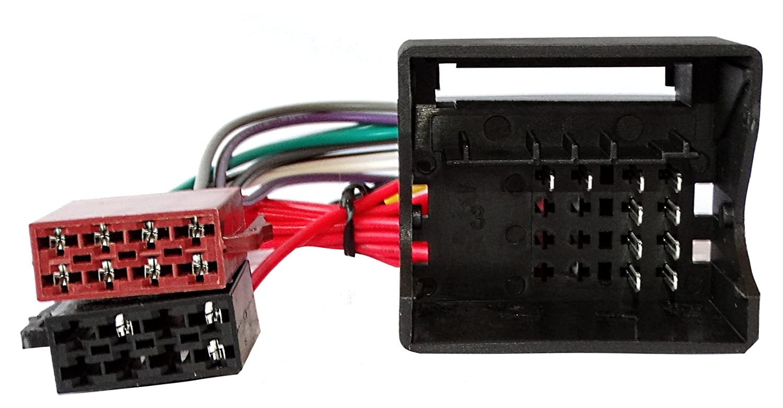Aerzetix ISO Konverter Adapter Kabel Radioadapter Radio ISO USB Cinch Steckerkabell C40120