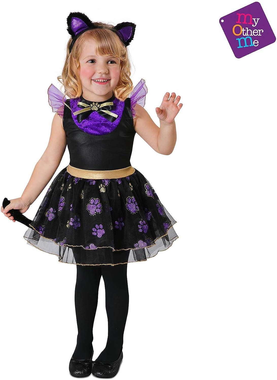 My Other Me Me Me - Halloween Gatita Disfraz, multicolor, 3-4 años ...