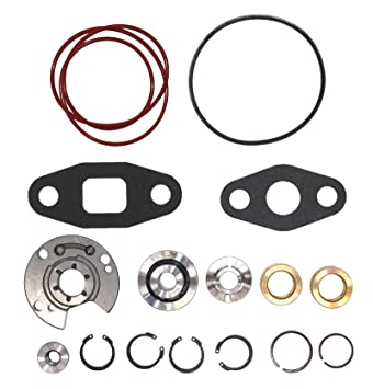 Turbo reconstruir Kit de reparación Kits para Garrett T3 T4 t04b t04e Turbocompresor 360 grado Upgrade Thrust Bearing: Amazon.es: Coche y moto