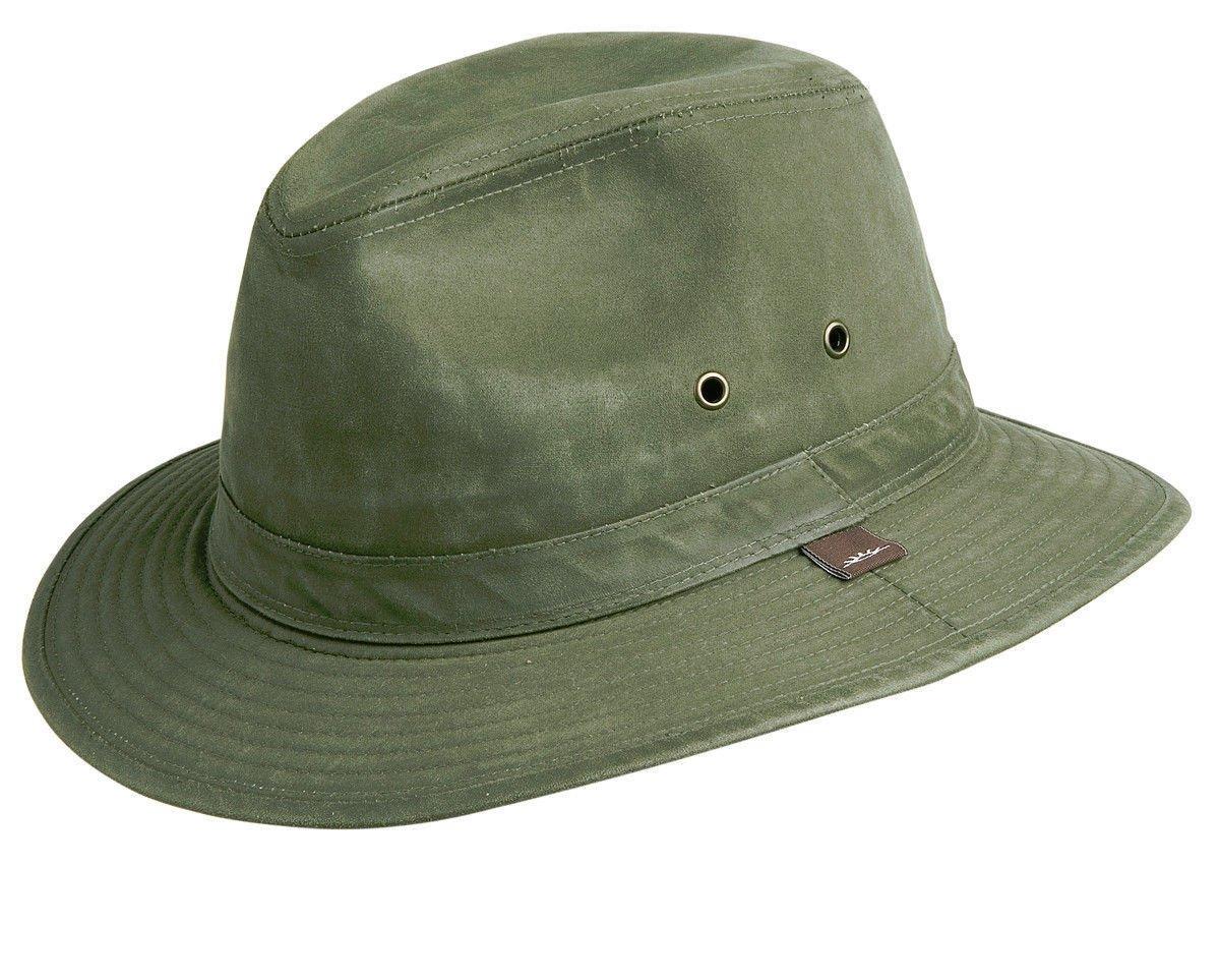 6b42b14f8ee Amazon.com  Conner Hats Men s Indy Jones Water Resistant Cotton Hat  Sports    Outdoors