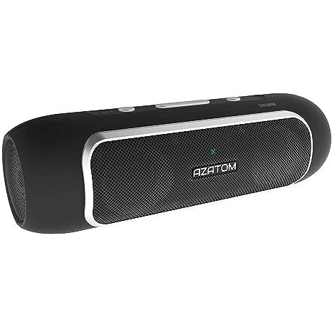 Modelo AZATOM Storm - Potente altavoz Bluetooth 4.0 con Tecnología inalámbrica de corto alcance (NFC): Amazon.es: Electrónica