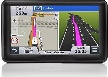 """Hieha® Navegador GPS para coche pantalla de 7 """", mapas gratuitos de por"""