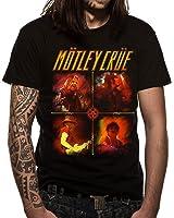 Loud Distribution Motley Crue Live Collage Logo Men's T-Shirt