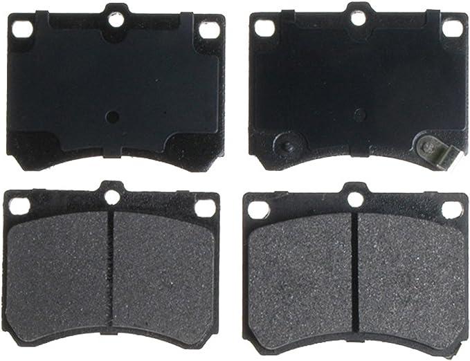 ACDelco 14D1012M Advantage Semi-Metallic Rear Disc Brake Pad Set with Wear Sensor
