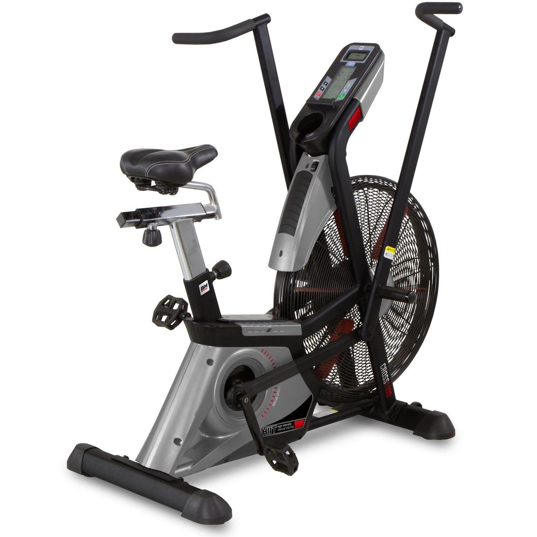 BH Fitness Cross 1100 – innovativer Fahrradergometer – Heimtrainer - für ein intensives Ganzkörpertraining - bis 150 kg – stufenlos einstellbarer Luftwiderstand – HIIT Training - H8750