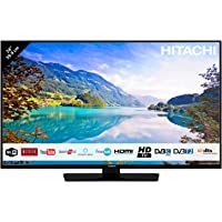 "Téléviseur HITACHI 24HE2001 24"" (59,9cm) / HD/Smart TV/Netflix / Youtube/Alexa / 2 HDMI/FRANSAT / USB/WiFi"