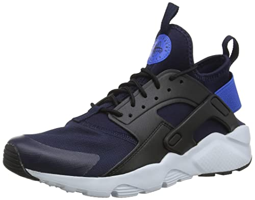 huge selection of 34434 33593 Nike Air Huarache Run Ultra GS, Zapatillas para Niños, Azul  (ObsidianSignal Blue-Black 410), 38.5 EU Amazon.es Zapatos y complementos