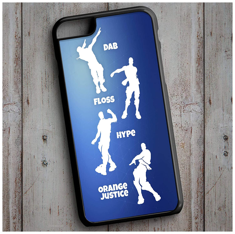 Fortnite Dances - Floss - Orange Juice - Dab   iPhone Case Cover