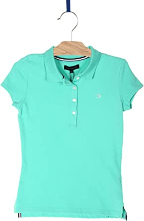 Tommy Hilfiger - Polo, Fitted, Chica: Amazon.es: Ropa