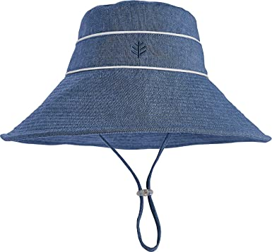 27cbb9a598c309 Amazon.com: Coolibar UPF 50+ Girl's Sand Castle Sun Hat - Sun Protective:  Clothing