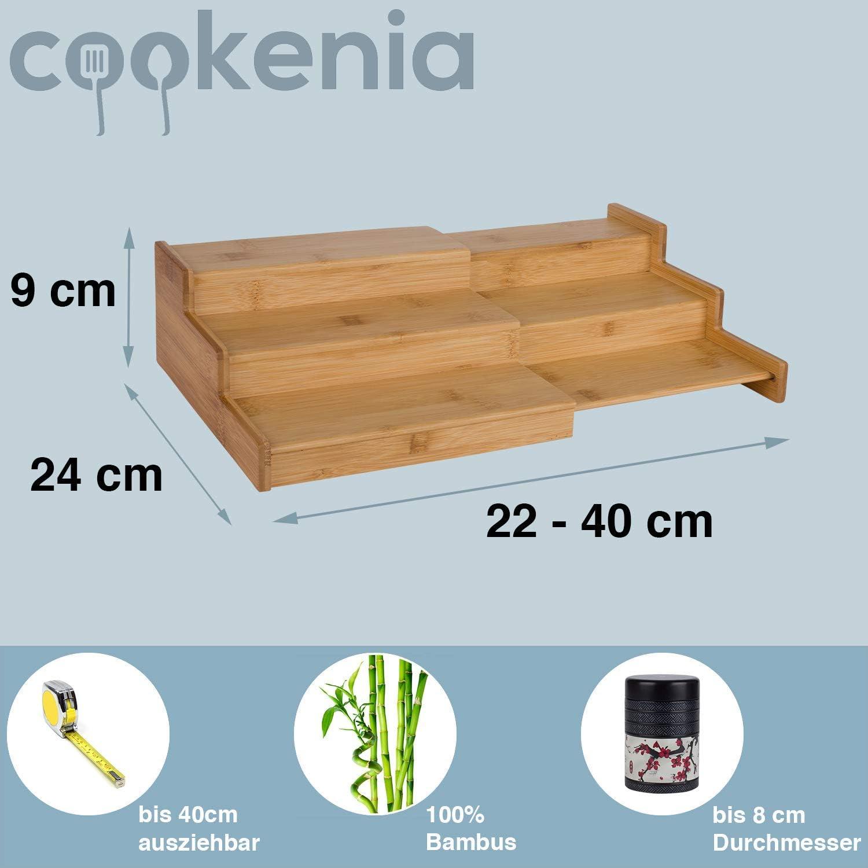 1, 40 cm cookenia SKU Estanter/ía para Especias