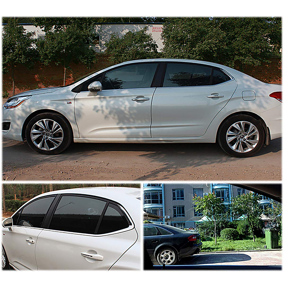VLT 25/% 20x118 RongSa Nano Ceramic Car Solar Anti UV Window Tint Film