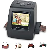 Jumbl 35mm Film Slide and Negative Scanner - Film to Digital Image Converter - with 2.4-Inch LCD and TV-Out