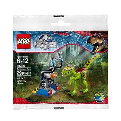 LEGO Jurassic World Gallimimus Trap Set (30320) Exclusive Polybag 29pcs: Toys & Games
