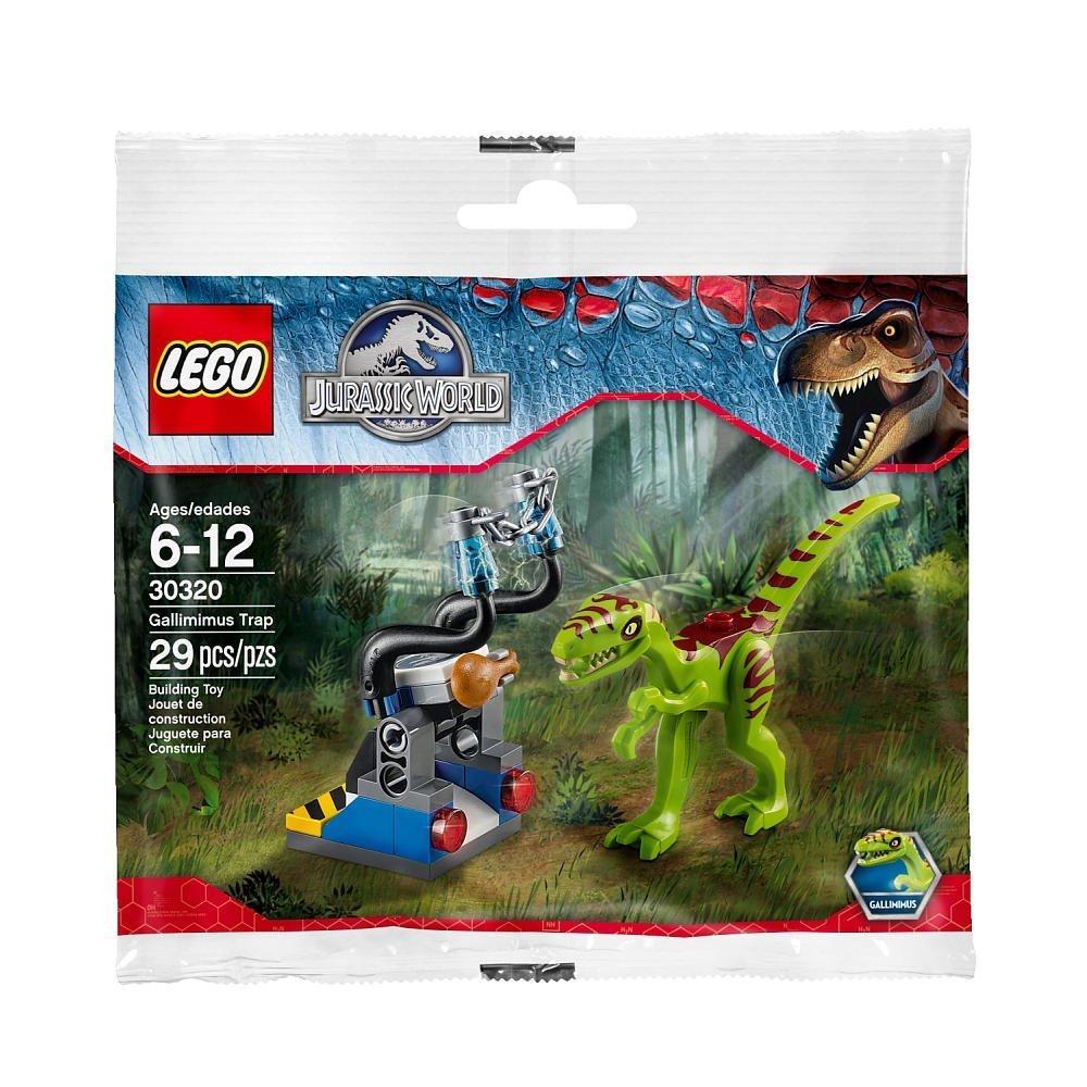 LEGO Jurassic World Gallimimus Trap Set (30320) Exclusive Polybag 29pcs