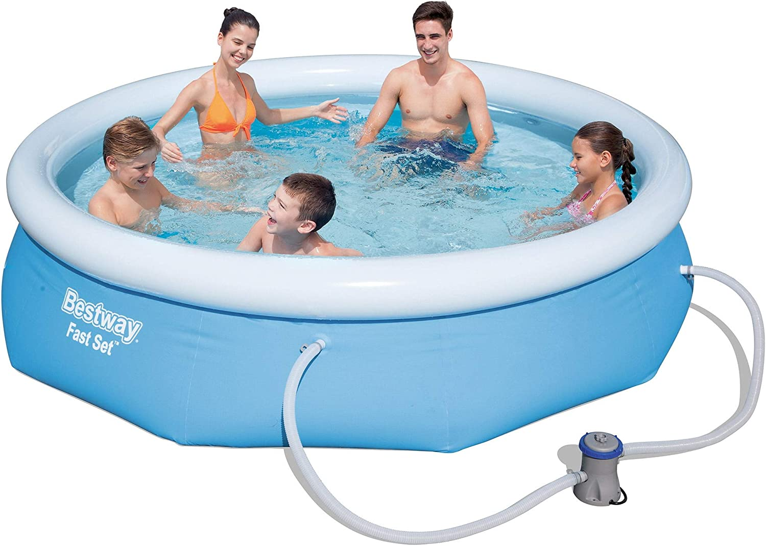 Jordanoshop Bestway Fast Set 57270 - Piscina Hinchable ...