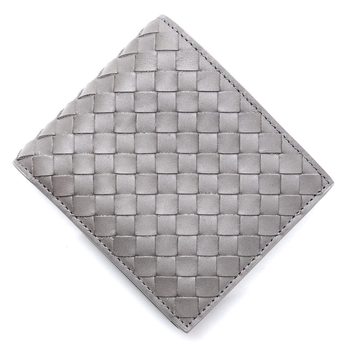 (ボッテガヴェネタ) BOTTEGA VENETA 2つ折り 財布 小銭入れ付き/VN [並行輸入品] B07F8R2D94 Free|Cement Cement Free