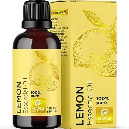 Amazon Com Aceite Esencial De Limón Revitalizante Aromatizante Aceite Esencial De Limón Sin Diluir Para La Piel Y Las Uñas Del Cabello Además De Aceites Esenciales De Aromaterapia Para Difusores Para El