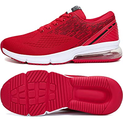 APTESOL Running Shoes Men Light Weight Sport Sneakers with Air Cushion for Men's Cross-Training & Road Running   Road Running