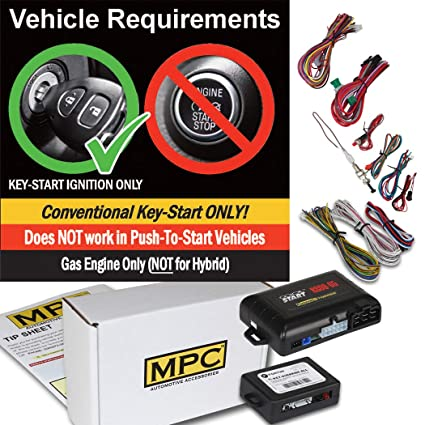 Complete Add-On Remote Start Kit for 2004-2010 Toyota Sienna - Includes  Bypass Module - Uses Factory Remotes
