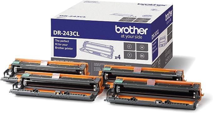 Brother Dr243cl Suitable For Dcpl3510cdw Drum 18 000 Pages Pack Of 4 Bürobedarf Schreibwaren