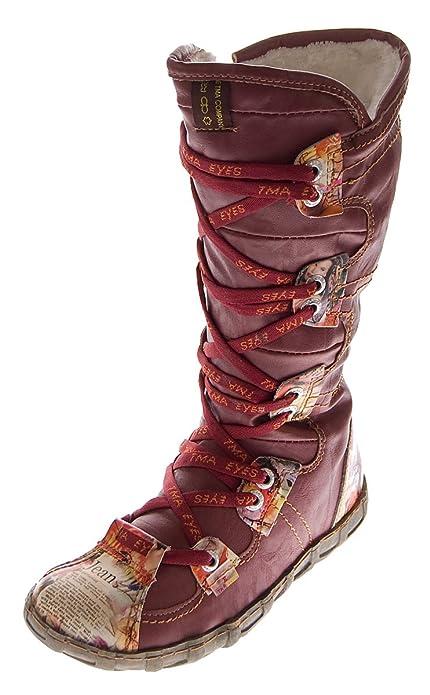 TMA - Zapato de Media Caña Mujer, Color Negro, Talla 37